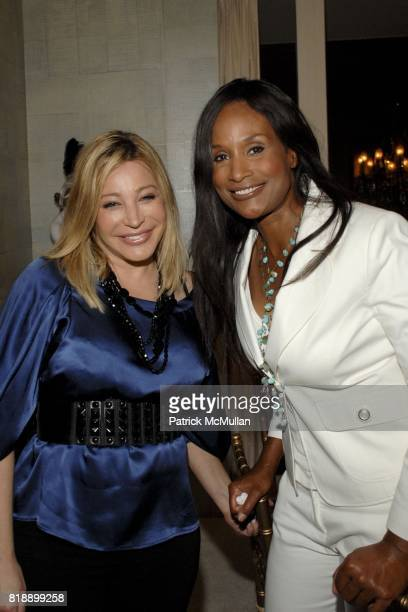 Taylor Dayne and Beverly Johnson attend Mayor Antonio Villaraigosa celebrates Nikki Haskell's Birthday at Sierra Towers on May 17th 2010 in West...