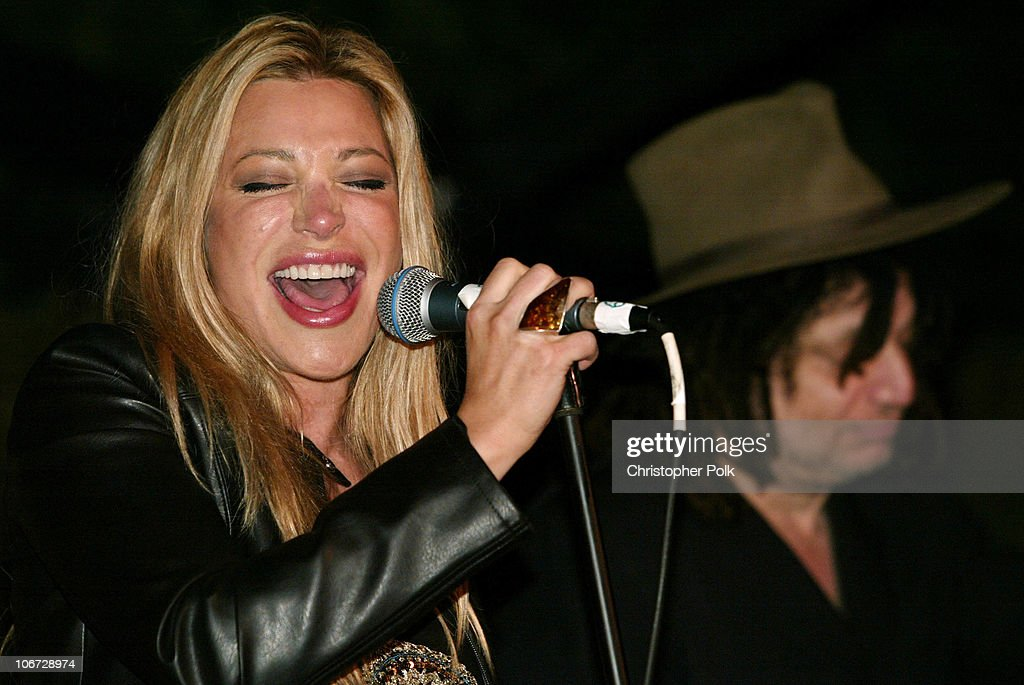 Taylor Dayne and Don Was during 2003 Dream Makers Circle Reception at Private Residence in Beverly Hills California United States
