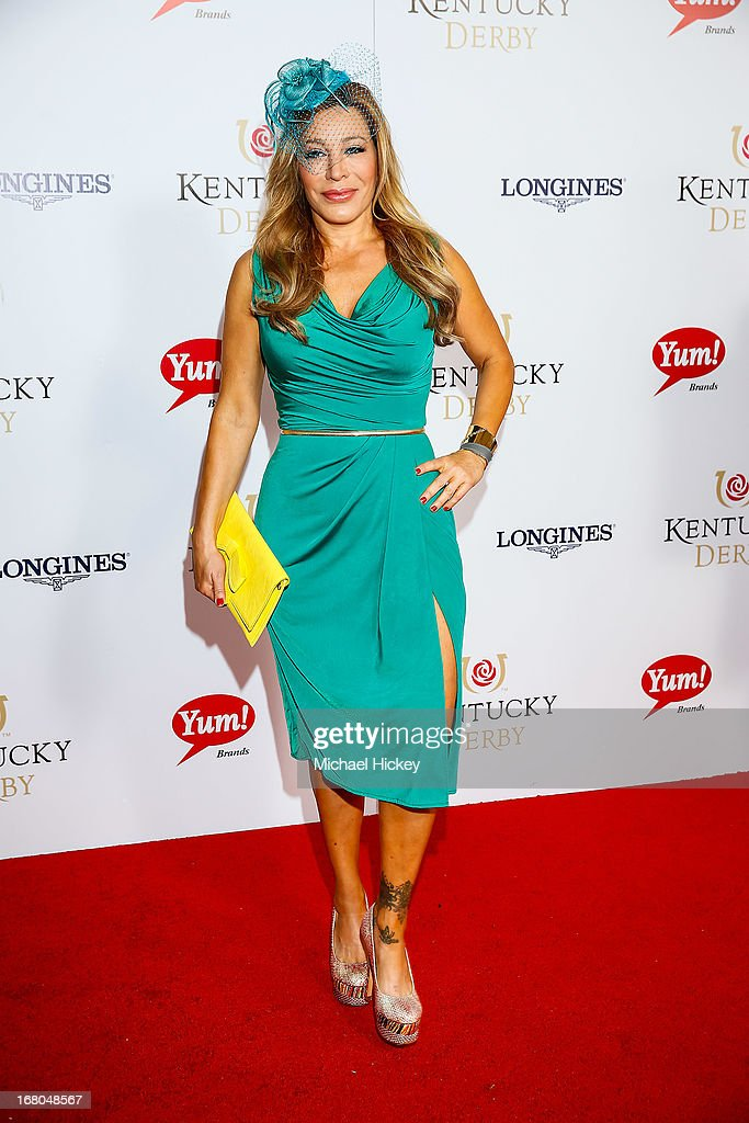 Taylor Dayne attends 139th Kentucky Derby at Churchill Downs on May 4, 2013 in Louisville, Kentucky.