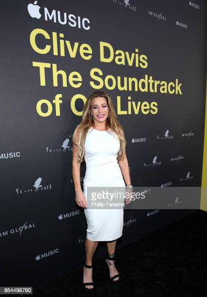 Taylor Dayne attends the Apple Music Los Angeles Premiere Of 'Clive Davis The Soundtrack Of Our Lives' at Pacific Design Center on September 26 2017...