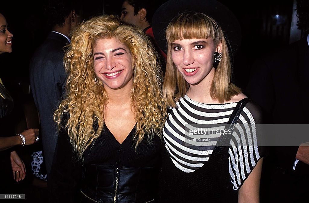 Taylor Dayne Debbie Gibson during 16th Annual American Music Awards in Los Angeles California United States