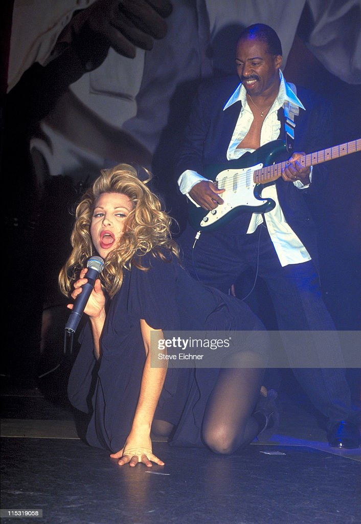 Taylor Dayne during Taylor Dane in Concert at Club USA 1993 at Club USA in New York City New York United States