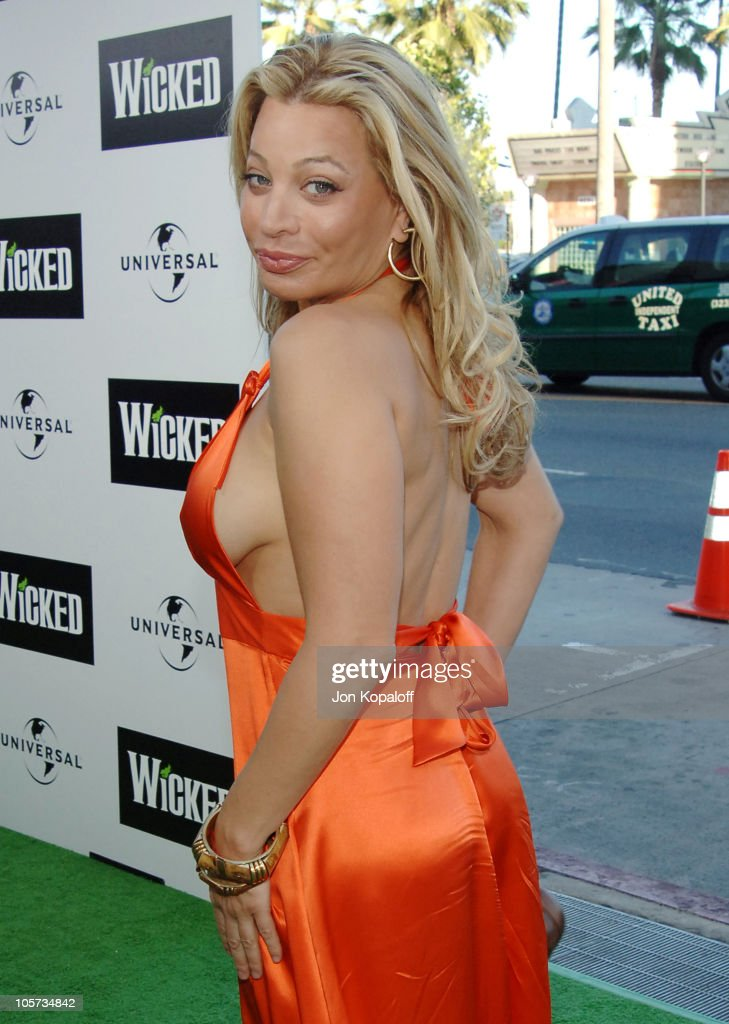 Taylor Dayne during 'Wicked' Los Angeles Opening Night Arrivals at Pantages Theatre in Hollywood California United States
