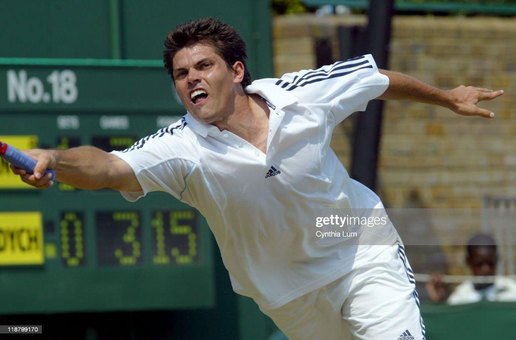2005 Wimbledon Championships - Gentlemens' Singles - Third Round - Taylor Dent