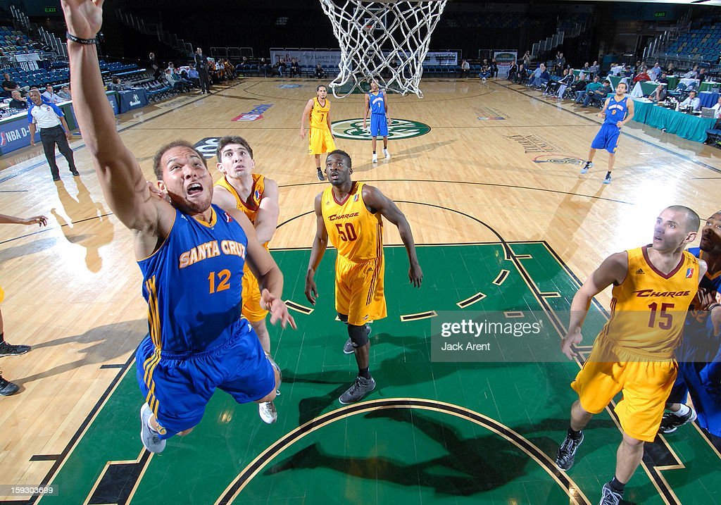 <a gi-track='captionPersonalityLinkClicked' href=/galleries/search?phrase=Taylor+Griffin&family=editorial&specificpeople=4185737 ng-click='$event.stopPropagation()'>Taylor Griffin</a> #12 of the Santa Cruz Warriors shoots the ball against the Canton Charge during the 2013 NBA D-League Showcase on January 10, 2013 at the Reno Events Center in Reno, Nevada.