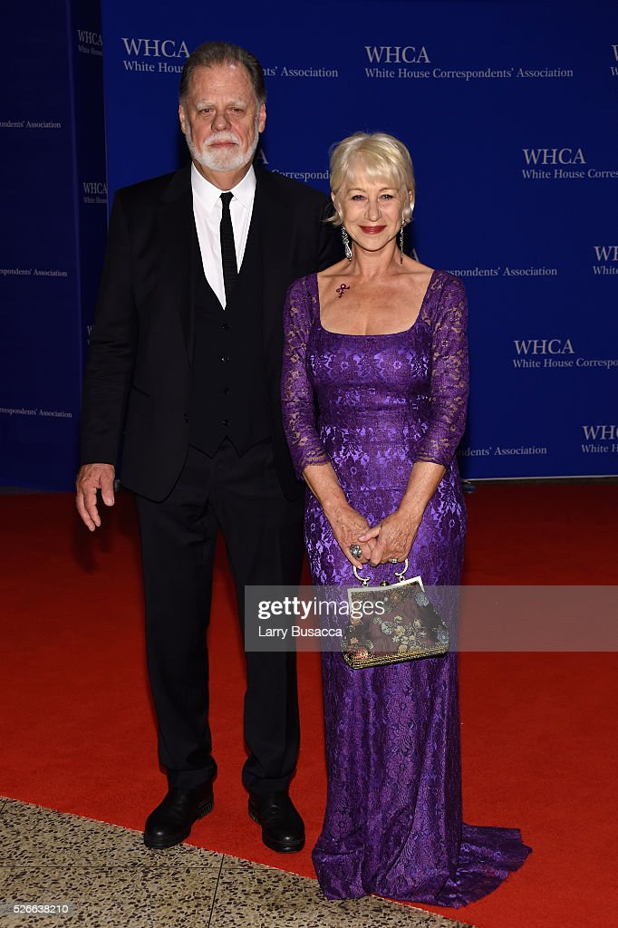 Taylor Hackford and Helen Mirren attend the 102nd White House Correspondents' Association Dinner on April 30, 2016 in Washington, DC.
