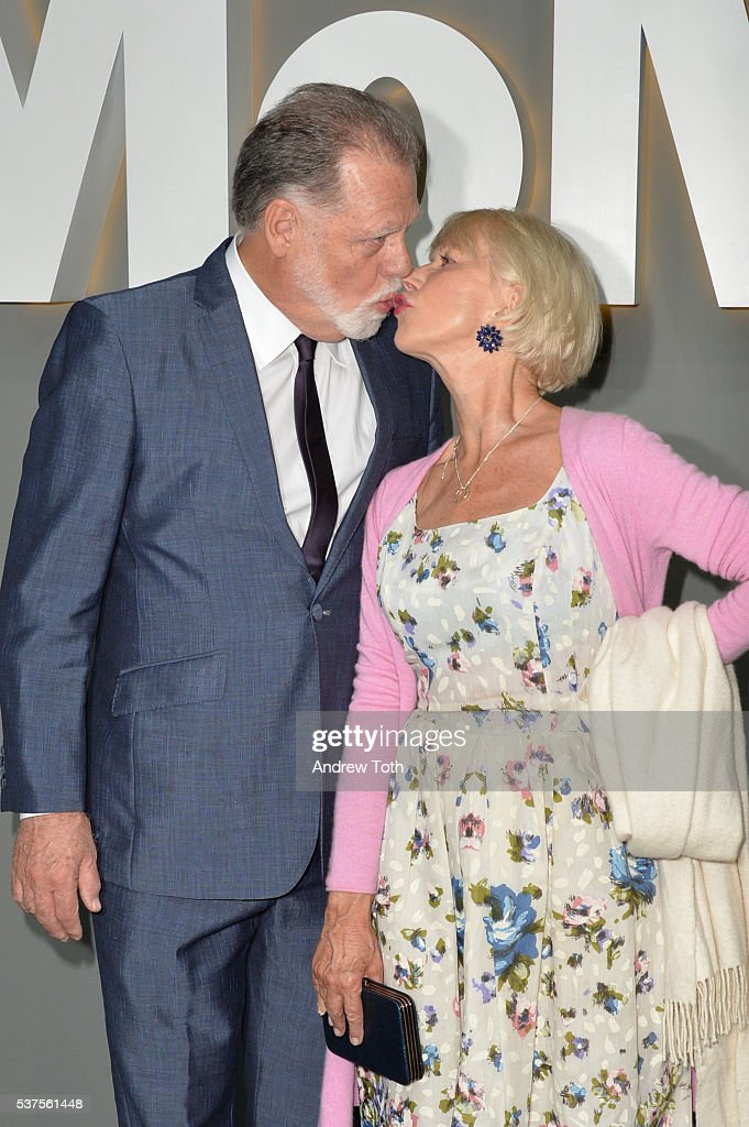 Taylor Hackford and Helen Mirren attend the 2016 Museum Of Modern Art Party In The Garden at Museum of Modern Art on June 1 2016 in New York City