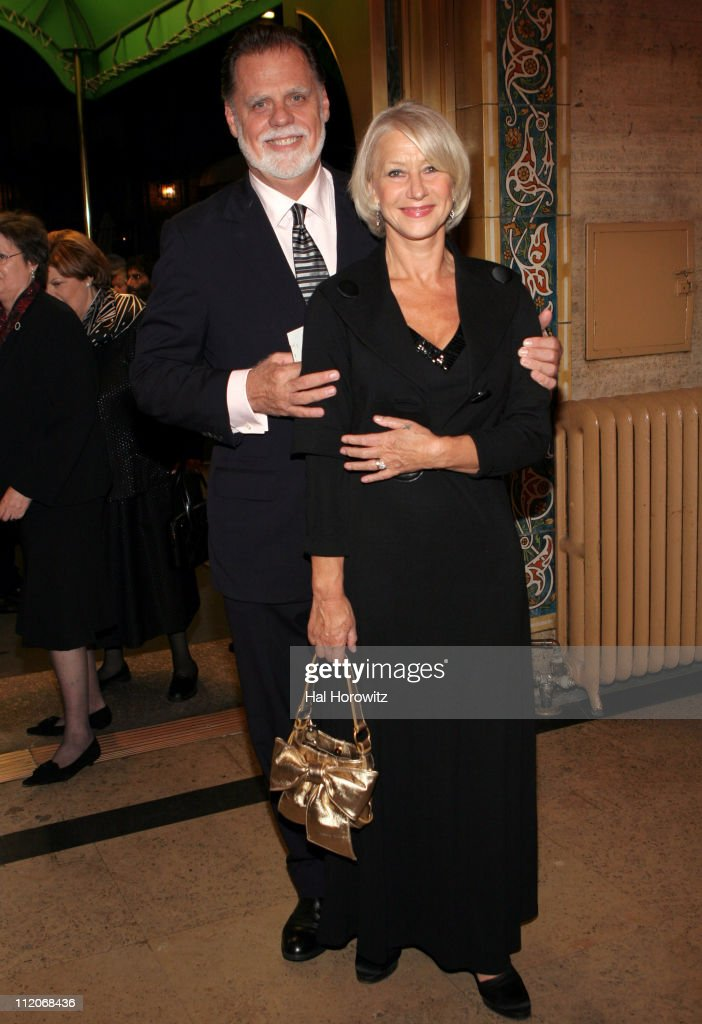Taylor Hackford and Helen Mirren during American Ballet Theatre's Fall Season Opening Night Gala at Performance City Center in New York City New York...