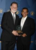 Taylor Hackford recipient of the 2007 DGA Robert B Aldrich Service Award and Mayor Antonio Villaraigosa