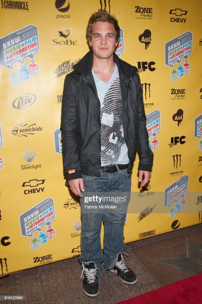 Taylor Handley attends Premiere Screening of SKATELAND at SXSW at Paramount Theater on March 16, 2010 in Austin, TX.
