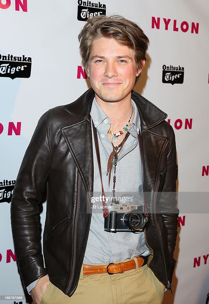 Taylor Hanson attends the NYLON Magazine Annual May Young Hollywood Issue Party at The Roosevelt Hotel on May 14, 2013 in Hollywood, California.