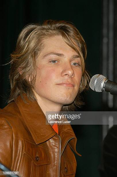 Taylor Hanson during Hanson Announce Launch Of 3CG Record Label And Carnegie Hall Performance at Bottom Line in New York City New York United States