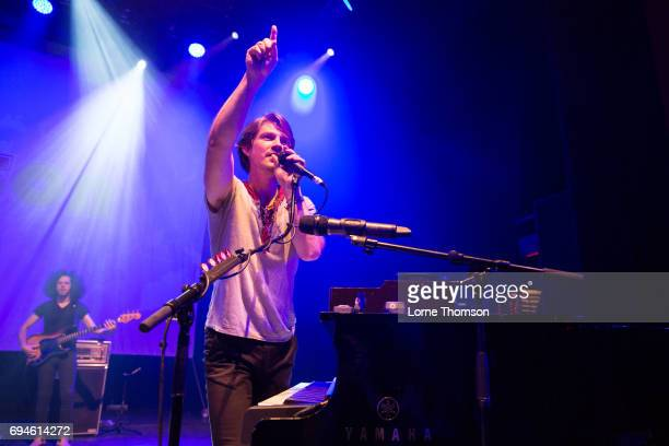Taylor Hanson of Hanson performs at O2 Shepherd's Bush Empire on June 10 2017 in London England