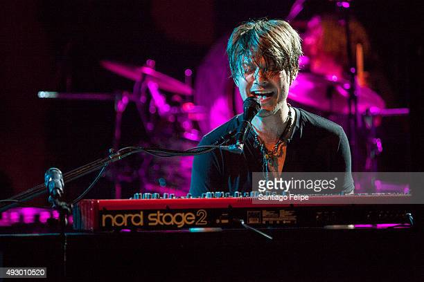 Taylor Hanson of Hanson performs onstage at Irving Plaza on October 16 2015 in New York City