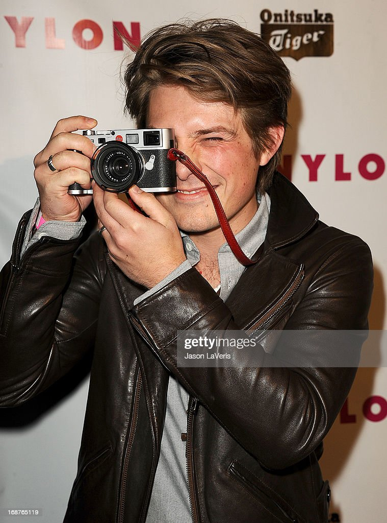 <a gi-track='captionPersonalityLinkClicked' href=/galleries/search?phrase=Taylor+Hanson&family=editorial&specificpeople=210666 ng-click='$event.stopPropagation()'>Taylor Hanson</a> of the band Hanson attends Nylon Magazine's Young Hollywood issue event at The Roosevelt Hotel on May 14, 2013 in Hollywood, California.