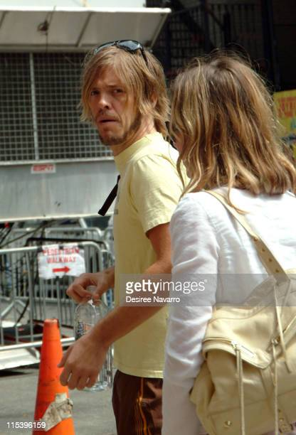 Taylor Hawkins of The Foo Fighters during The Foo Fighters Visit 'The Late Show With David Letterman' June 13 2005 at Ed Sullivan Theatre in New York...