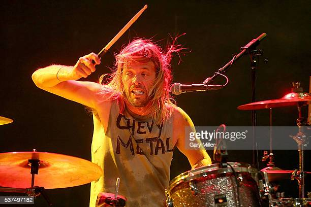Taylor Hawkins performs in concert with Chevy Metal during the X Games Kickoff Bash at Stubb's BarBQ on June 1 2016 in Austin Texas