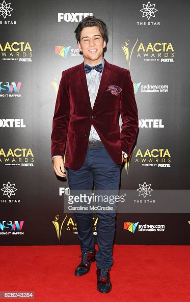 Taylor Henderson arrives ahead of the 6th AACTA Awards Presented by Foxtel at The Star on December 7 2016 in Sydney Australia