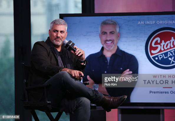 Taylor Hicks discusses his new album at the Build Series at AOL HQ on October 20 2016 in New York City