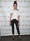 Taylor Hill attends Behati Juicy Couture Black Label Launch at PHD Rooftop Lounge at Dream Downtown on March 23 2016 in New York City