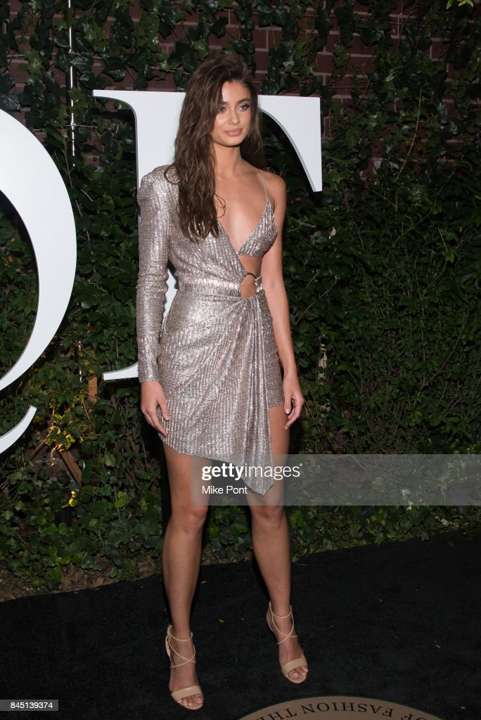 Taylor Hill attends the 2017 BoF 500 Gala at Public Hotel on September 9, 2017 in New York City.