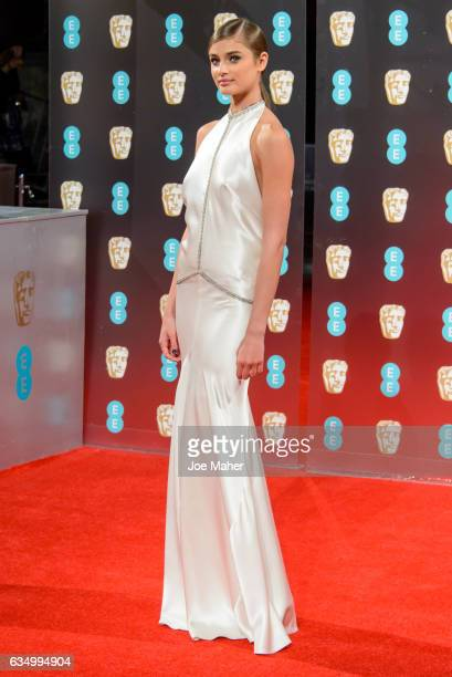 Taylor Hill attends the 70th EE British Academy Film Awards at Royal Albert Hall on February 12 2017 in London England