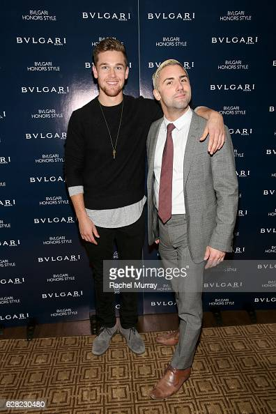 Taylor John Smith attends Bulgari Honors Style at Chateau Marmont on December 6 2016 in Los Angeles California