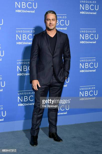 Taylor Kinney attends the 2017 NBCUniversal Upfront at Radio City Music Hall on May 15 2017 in New York City