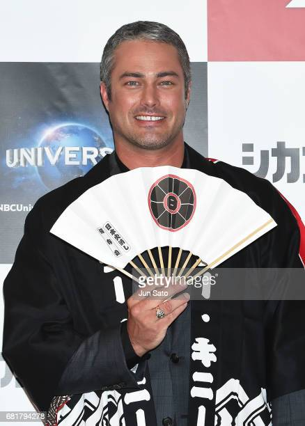 Taylor Kinney attends the press conference for 'Chicago Fire' Season 3 on May 11 2017 in Tokyo Japan