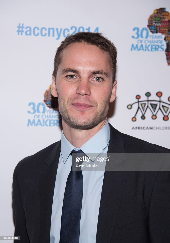 <a gi-track='captionPersonalityLinkClicked' href=/galleries/search?phrase=Taylor+Kitsch&family=editorial&specificpeople=745008 ng-click='$event.stopPropagation()'>Taylor Kitsch</a> arrives at the 6th Annual African Children's Choir Changemakers Gala at City Winery on November 20, 2014 in New York City.