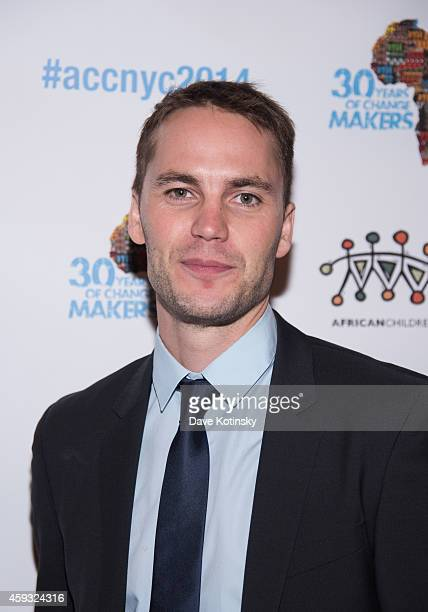 Taylor Kitsch arrives at the 6th Annual African Children's Choir Changemakers Gala at City Winery on November 20 2014 in New York City