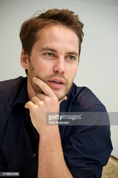 Taylor Kitsch at the 'True Detective' Press Conference at the Four Seasons Hotel on June 05 2015 in Beverly Hills California