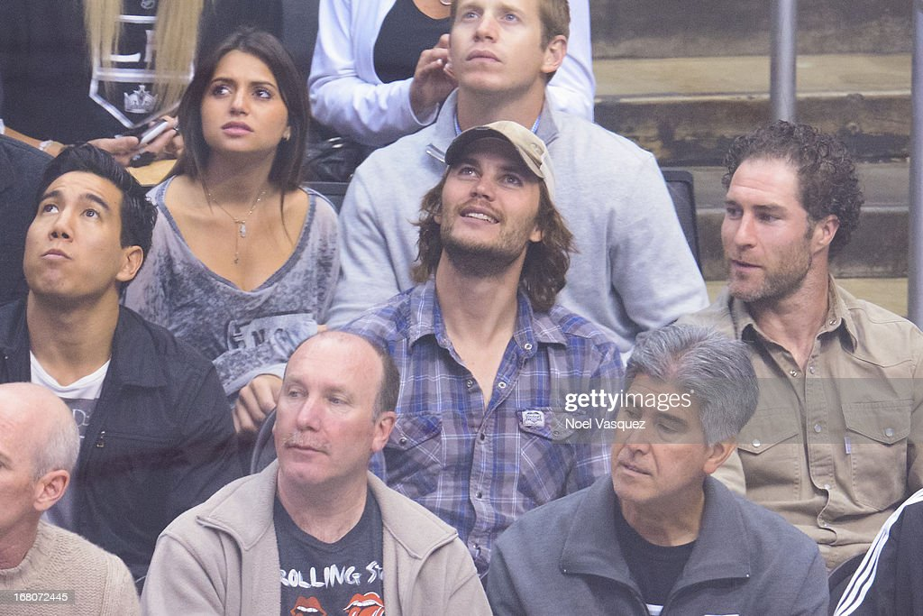 <a gi-track='captionPersonalityLinkClicked' href=/galleries/search?phrase=Taylor+Kitsch&family=editorial&specificpeople=745008 ng-click='$event.stopPropagation()'>Taylor Kitsch</a> attends an NHL playoff game between the St. Louis Blues and the Los Angeles Kings at Staples Center on May 4, 2013 in Los Angeles, California.