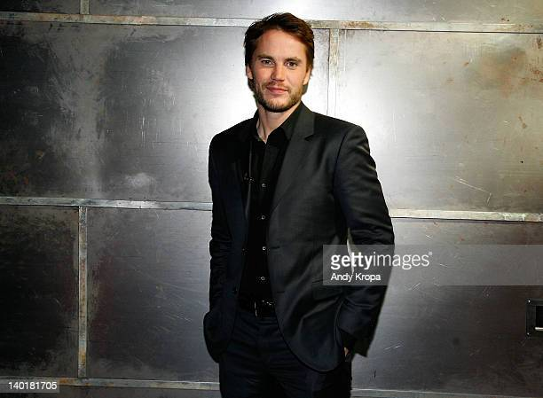 Taylor Kitsch visits fuse Studios on February 29 2012 in New York City