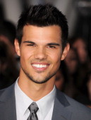 Taylor Lautner arrives at the 'The Twilight Saga Breaking Dawn Part 2' Los Angeles Premiere at Nokia Theatre LA Live on November 12 2012 in Los...