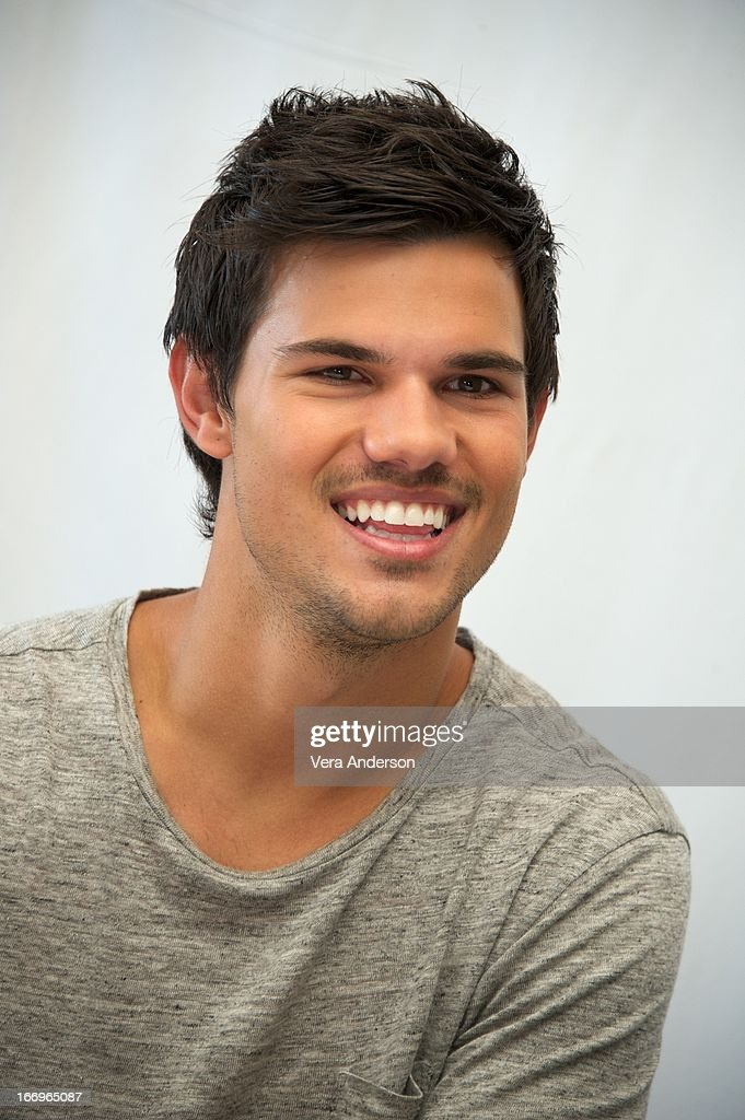 Taylor Lautner at the 'Grown Ups 2' Press Junket on April 18, 2013 in Cancun, Mexico.