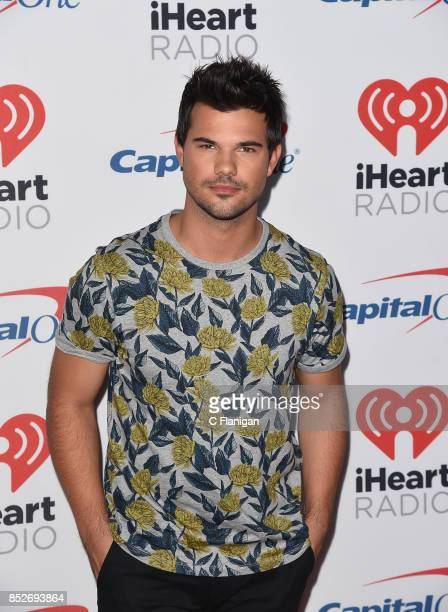 Taylor Lautner attends the 2017 iHeartRadio Music Festival at TMobile Arena on September 23 2017 in Las Vegas Nevada