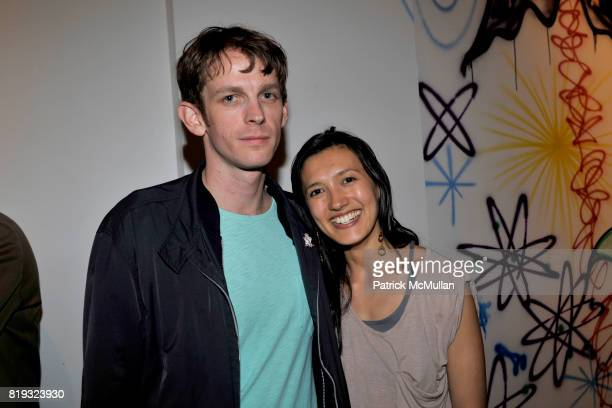 Taylor McKimenz and Hikari Yokoyama attend IN DIALOGUE CURATED BY PETER MAKEBISH HOSTED BY ANONYMOUS GALLERY at Anonymous Gallery on April 14 2010 in...