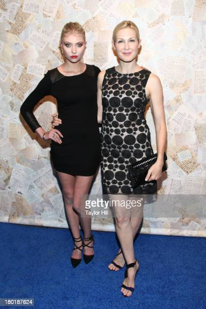 Taylor Momsen and Kelly Rutherford attends the Alice Olivia Spring 2014 presentation at 441 West 14th Street on September 9 2013 in New York City