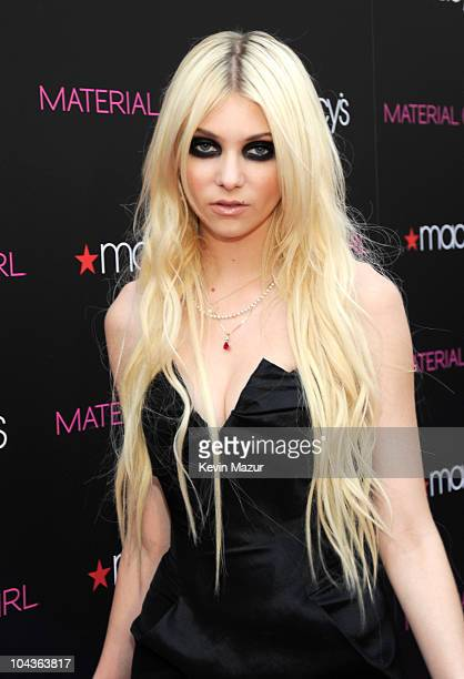 Taylor Momsen attends the launch of 'Material Girl' at Macy's Herald Square on September 22 2010 in New York City