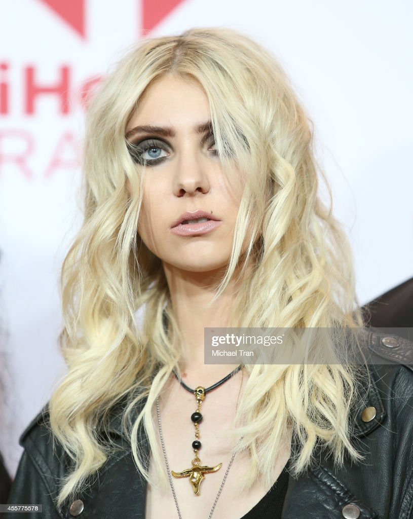 Taylor Momsen of Pretty Reckless attends the iHeart Radio Music ...