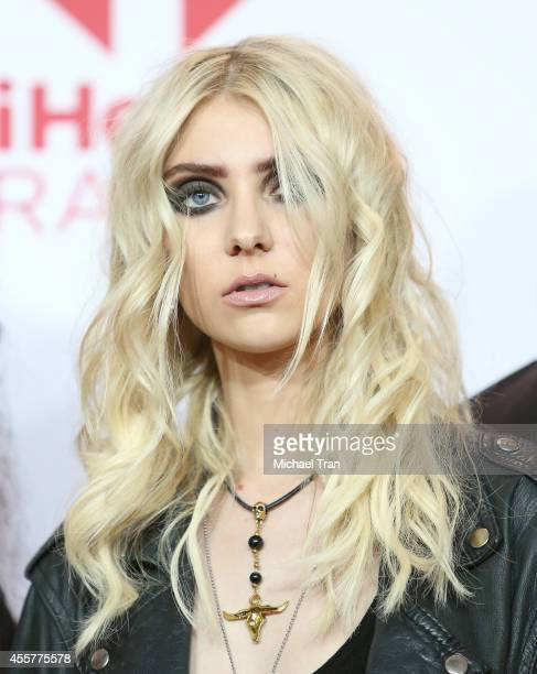 Taylor Momsen of Pretty Reckless attends the iHeart Radio Music Festival press room held at MGM Grand Resort and Casino on September 19 2014 in Las...