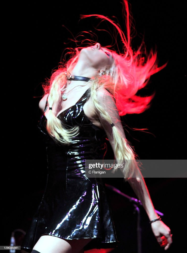 Taylor Momsen of The Pretty Reckless performs at The Fox Theatre on October 10 2011 in Oakland California