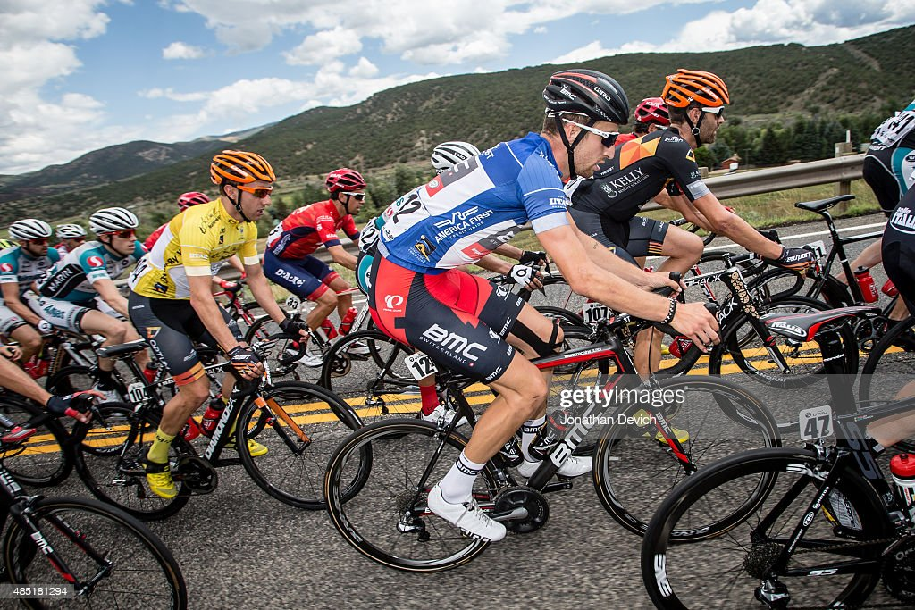<a gi-track='captionPersonalityLinkClicked' href=/galleries/search?phrase=Taylor+Phinney&family=editorial&specificpeople=4645036 ng-click='$event.stopPropagation()'>Taylor Phinney</a> of the BMC Pro Team rides in the fan favorite jersey The Tour of Utah on August 8, 2015 in Salt Lake City, Utah.