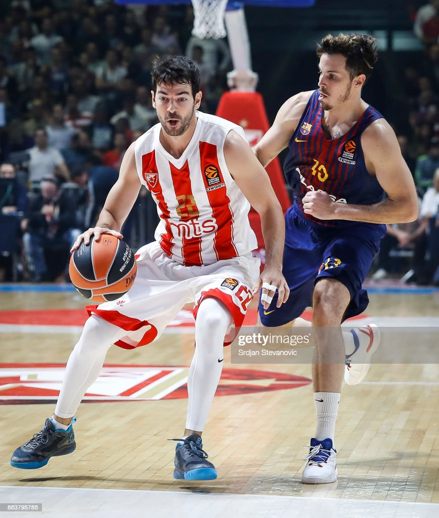 Crvena Zvezda mts Belgrade v FC Barcelona Lassa - Turkish Airlines EuroLeague