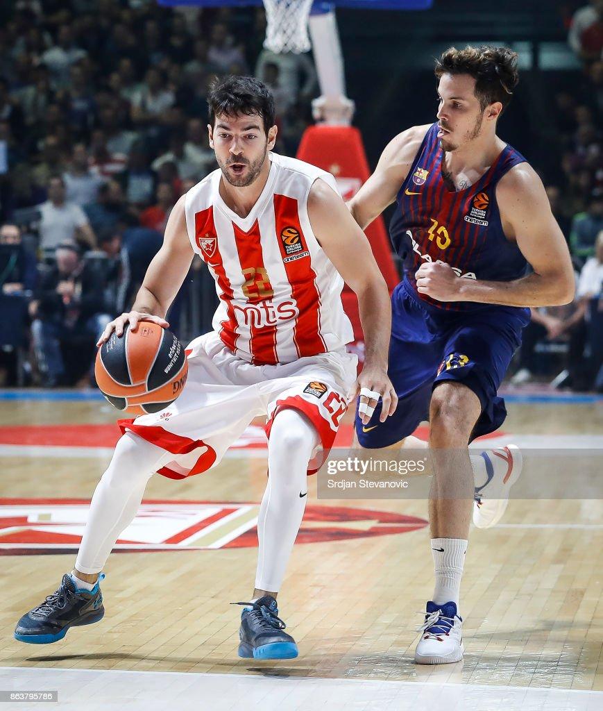 Crvena Zvezda mts Belgrade v FC Barcelona Lassa - Turkish Airlines EuroLeague