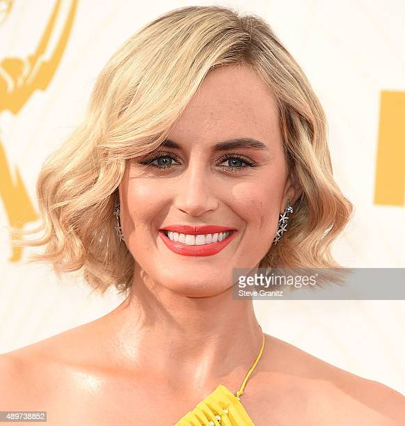 Taylor Schilling arrives at the 67th Annual Primetime Emmy Awards at Microsoft Theater on September 20 2015 in Los Angeles California