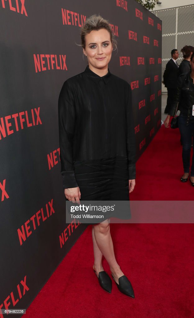 Taylor Schilling attends a Netflix's 'Orange Is The New Black' For Your Consideration Event at Saban Media Center on May 5, 2017 in North Hollywood, California.