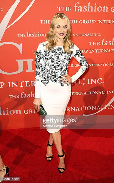 Taylor Schilling attends the 30th annual Fashion Group International Night of Stars on October 22 2013 in New York City