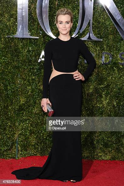 Taylor Schilling attends the American Theatre Wing's 69th Annual Tony Awards at Radio City Music Hall on June 7 2015 in New York City
